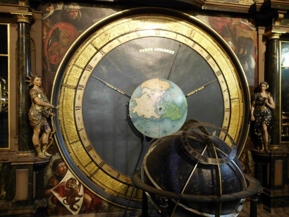 Présentation de l'horloge astronomiq