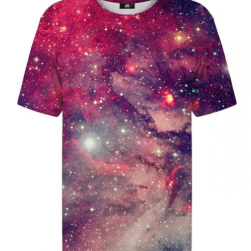 T-shirt Galaxie rouge