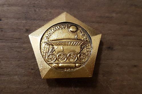 Pins Doré Spatial Soviétique #11