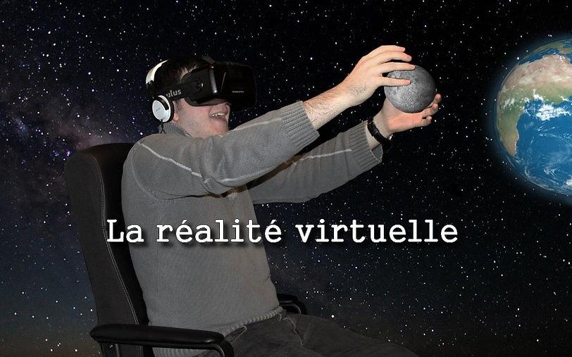 réalité virtuelle espace