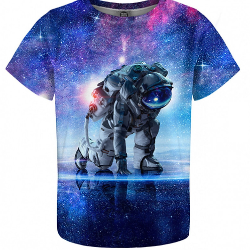 T-shirt Astronaute nébuleux