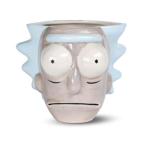 Rick et Morty mug Shaped 3D Rick Head