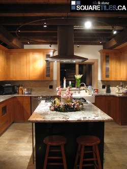 kitchen granite alaskan white