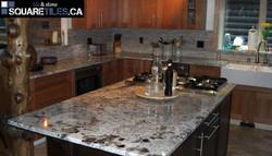 kitchen granite alaskan white