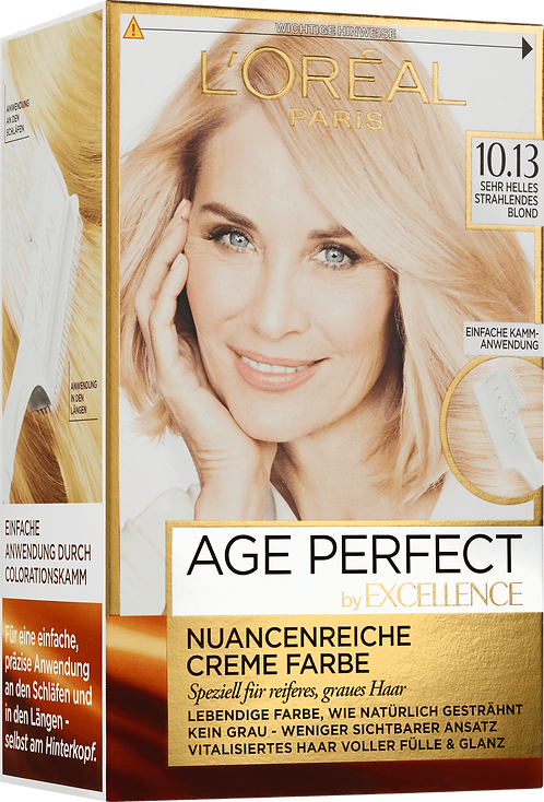 Excellence Coloration Age Perfect Very Bright Radiant Blonde 10.13, 1 pc
