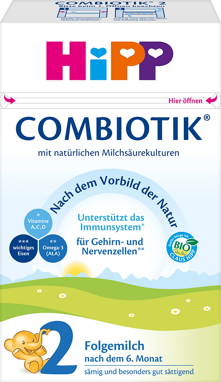 Follow-on Milk 2 Bio Combiotik after the 6th month, 600 g
