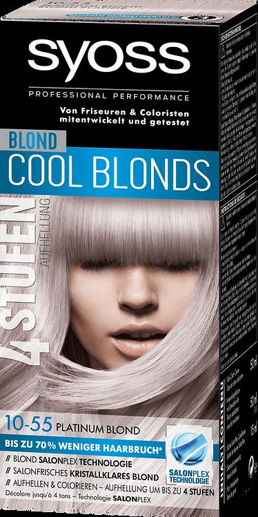 Syoss Brightener Cool Blonds 10-55 Platinum Blonde, 115 ml