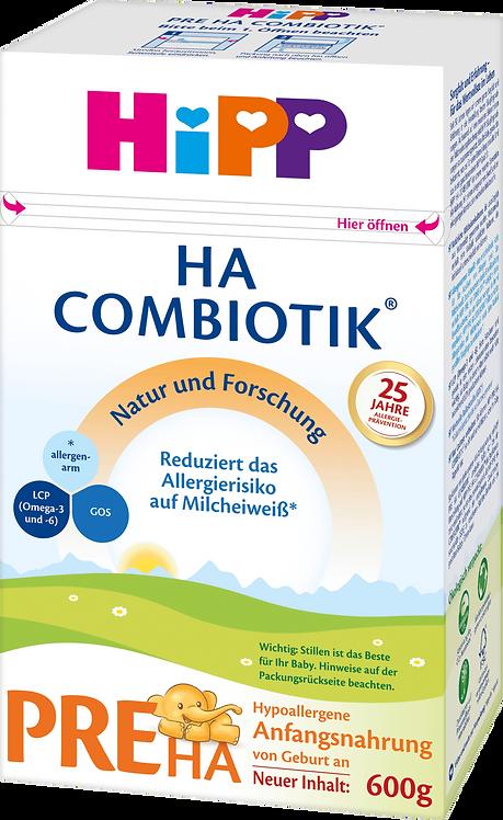 HiPP HA Stage PRE Combiotik Hypoallergenic Milk Formula from Birth, 600g