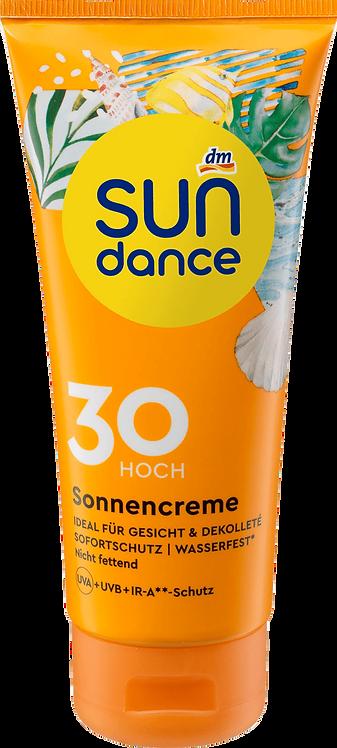 Sunscreen SPF 30+ 24h Moisturizer Not Greasy Waterproof, 100 ml