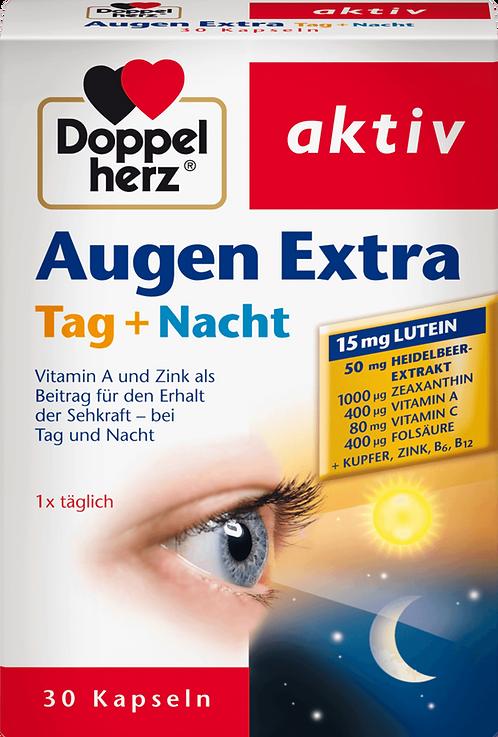 Doppel Herz Eyes Vitamin Extra Day + Night Capsules, 30 pcs