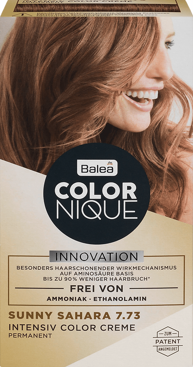 Balea COLORNIQUE Intensive Color Cream Sunny Sahara 7.73, 145 ml