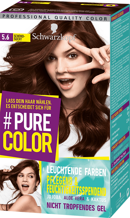 Schwarzkopf #Pure Color Hair color chocolate addiction 5.6, 1 pc
