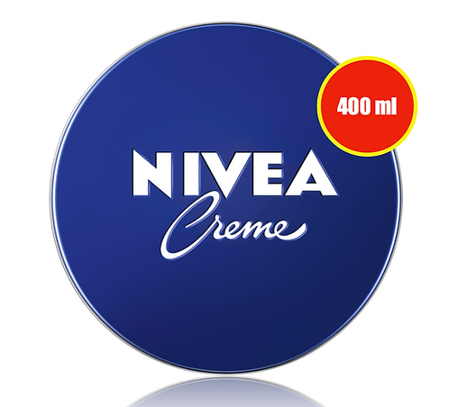 NIVEA Care Cream, 400 ml, 250 ml, 150 ml