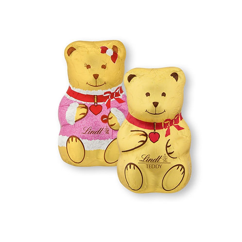 Children Favorite Premium Christmas Teddy Girls and Boys, 5 x 40g