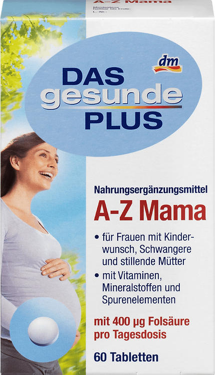 A-Z Mama Tablets, 60 St