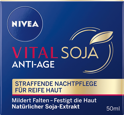 Night Cream Vital Soja Anti-Age, 50 ml