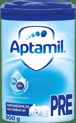 Aptamil Infant Pre-Pronutra starting milk from birth, 800 g