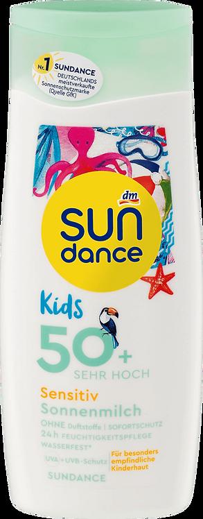 Kids Sensitive Sun Milk UVA + UVB Protection SPF 50+, 200 ml