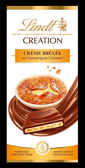 LINDT PREMIUM CREATION CREAM BURN, 150g