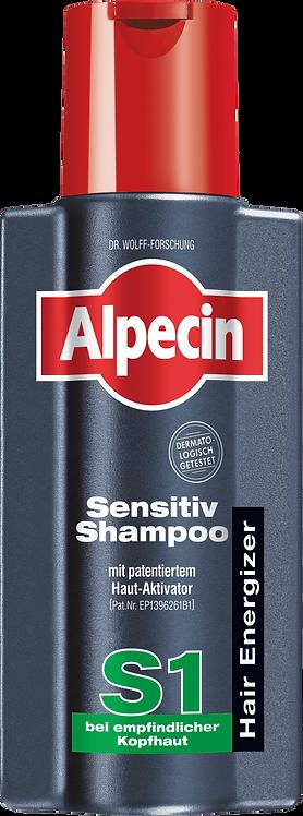 Alpecin Shampoo Energizer Sensitive S1, 250 ml