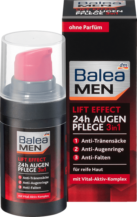 Men Eye Cream 3in1 Lift Effect 24h, 15 ml