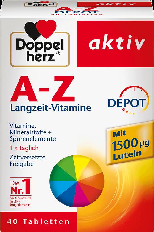Doppel Herz A-Z Vitamin Depot Tablets, 40 pcs