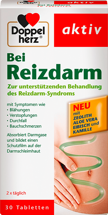 Supportive Treatment of irritable bowel syndrome 30 Tablets