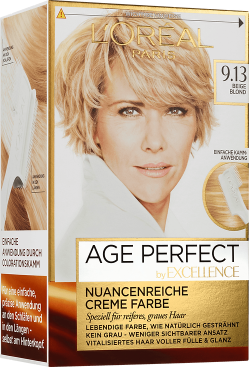 Excellence Coloration Age Perfect Beige Blonde 9.13, 1 pc