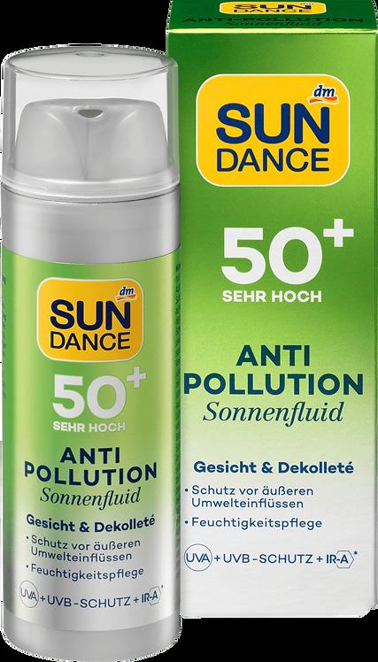 Sun Fluid Anti Pollution UVA + UVB Protection + IR-A SPF 50+, 50 ml