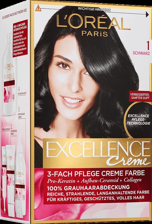 Excellence Coloration Black 1, 1 pc