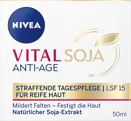VITAL SOJA Anti-Age Protective Day Cream SPF 15, 50 ml