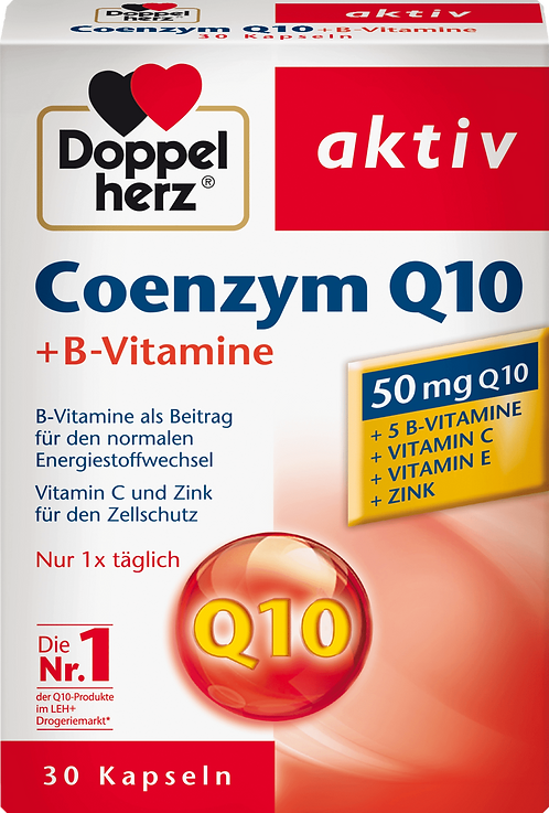 The Best Coenzyme Q 10 + B vitamins capsules 30 pieces, 12.5 g