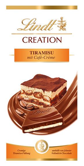 LINDT PREMIUM CREATION TIRAMISU, 150g