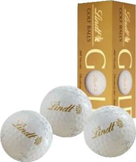 LINDT PREMIUM MEMORABILIA  GOLF BALLS 110g