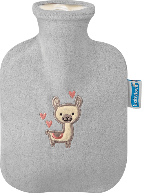Children's Hot Water Bottle Cover, llama, 1 pc