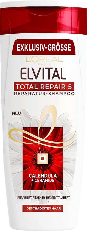 Elvital Shampoo Total Repair 5, 400 ml