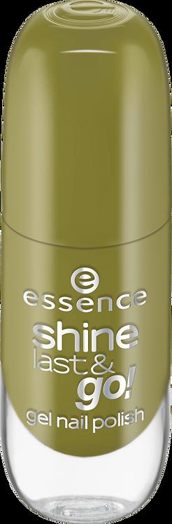 essence cosmetics shine last & go! gel nail polish green 50, 8 ml