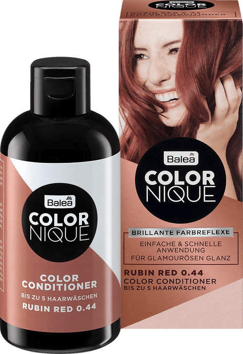 Balea COLORNIQUE Color Conditioner Rubin Red 0.44, 200 ml