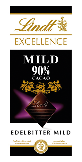 EXCELLENCE 90% MILD, 100g