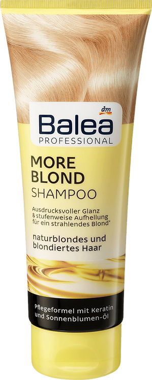 Professional Shampoo More Blond, 250 ml