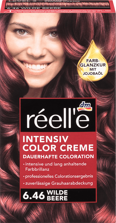 réell'e Hair color wild berry 6.46, 1 pc