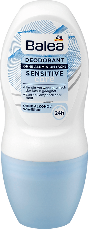 Deodorant Roll On Deodorant Sensitive Care, 50 ml