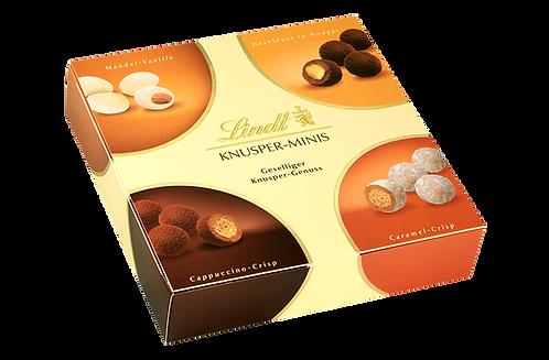 LINDT PREMIUM PRALINÉS SPECIALTIES KNUSPER MINIS CHOCOLATE, 200g