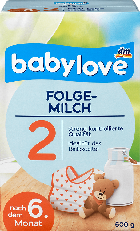 Follow-on Milk 2 Baby Love Formula after 6th month 600g