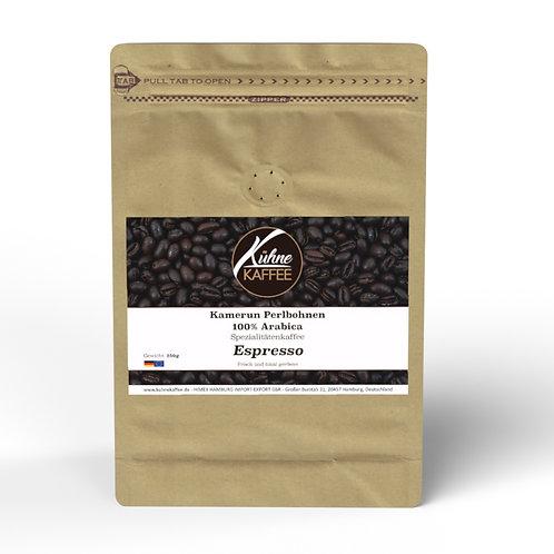 Espresso Kamerun Perlbohnen 100% Arabica 250g