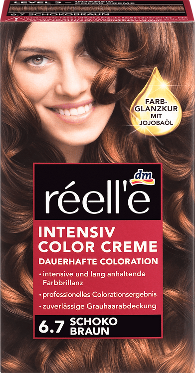 réell'e Hair color chocolate brown 6.7, 1 pc