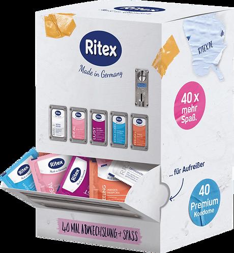 Ritex Condom machine, 40 pcs