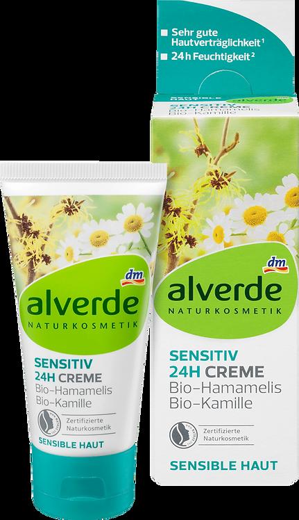 Day care sensitive 24h cream Hamamelis chamomile, 50 ml