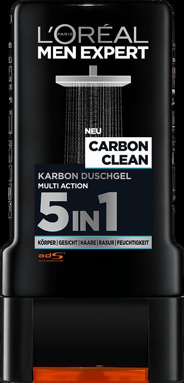 L'ORÉAL Men Expert Shower Gel Carbon Clean, 300 ml