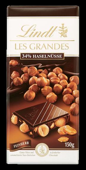 LES GRANDES HAZELNUT FINEHERB, 150g